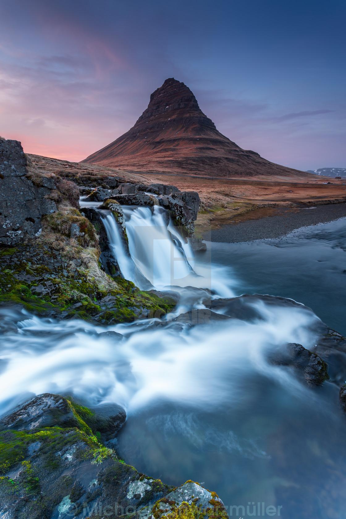 """Kirkjufell"" stock image"