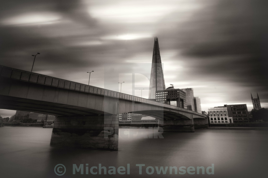 """Bridge and Shard"" stock image"