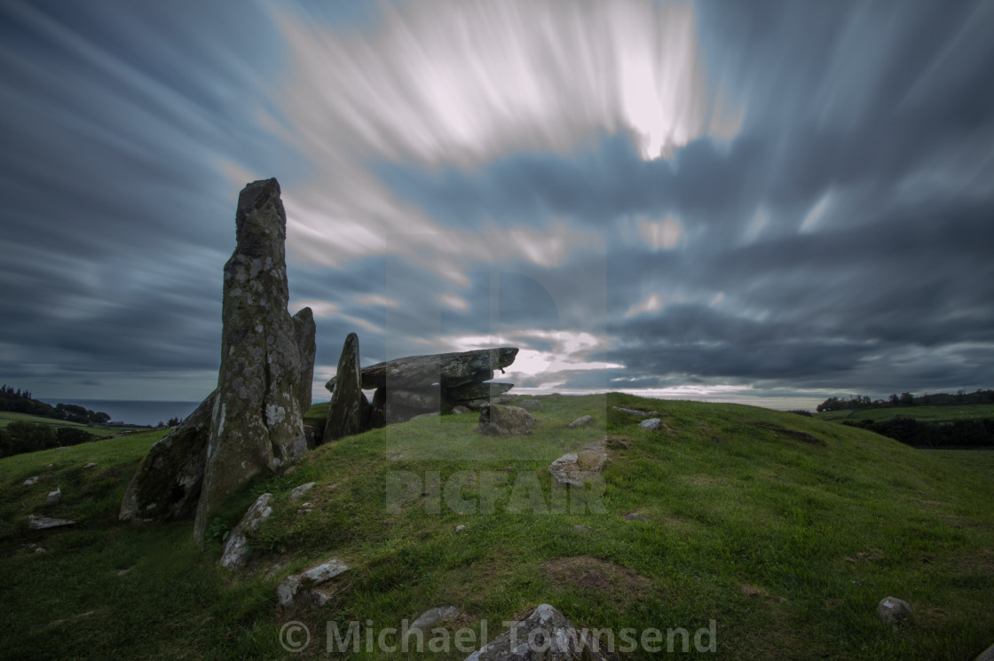 """Holy Cairns, Dumfries and Galloway"" stock image"