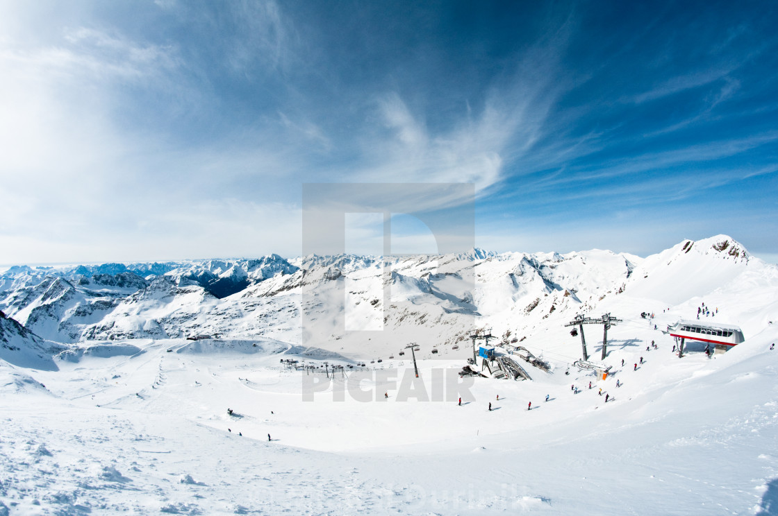 """modern ski resort"" stock image"