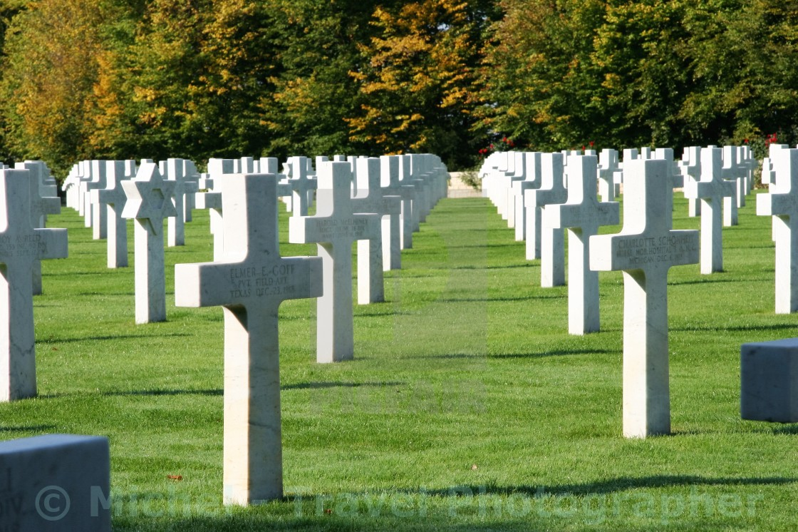 """Saint-Mihiel American Cemetery"" stock image"
