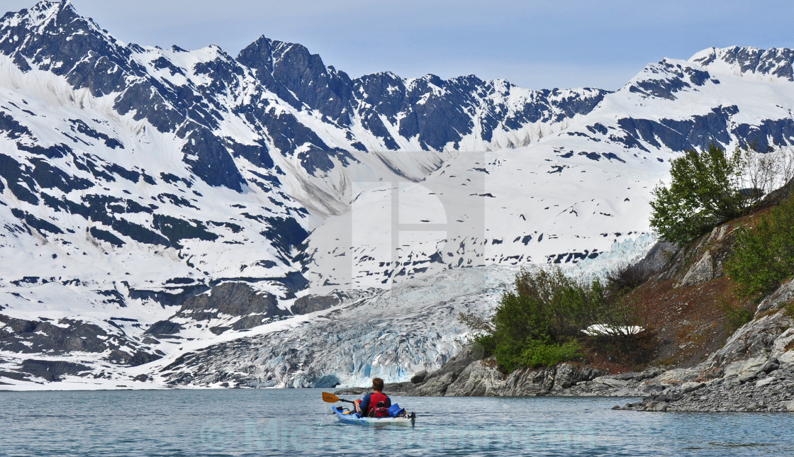 """Alaska Adventure Travel"" stock image"