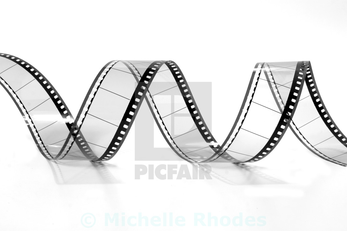"""Twisted Film"" stock image"