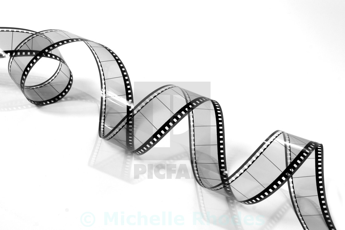 """Curly Film"" stock image"