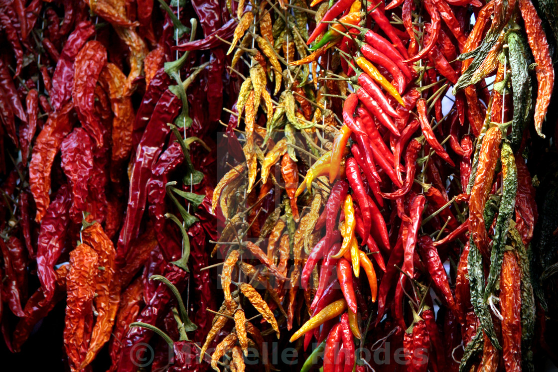 """Red Hot Chili Peppers"" stock image"