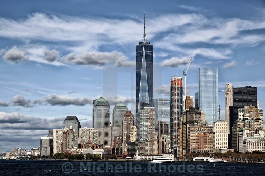 """New York Skyline"" stock image"