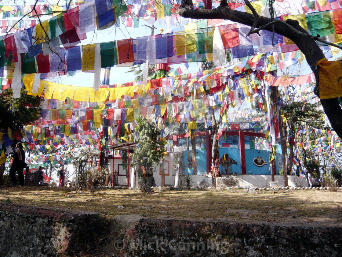 """Prayer flags (1)"" stock image"