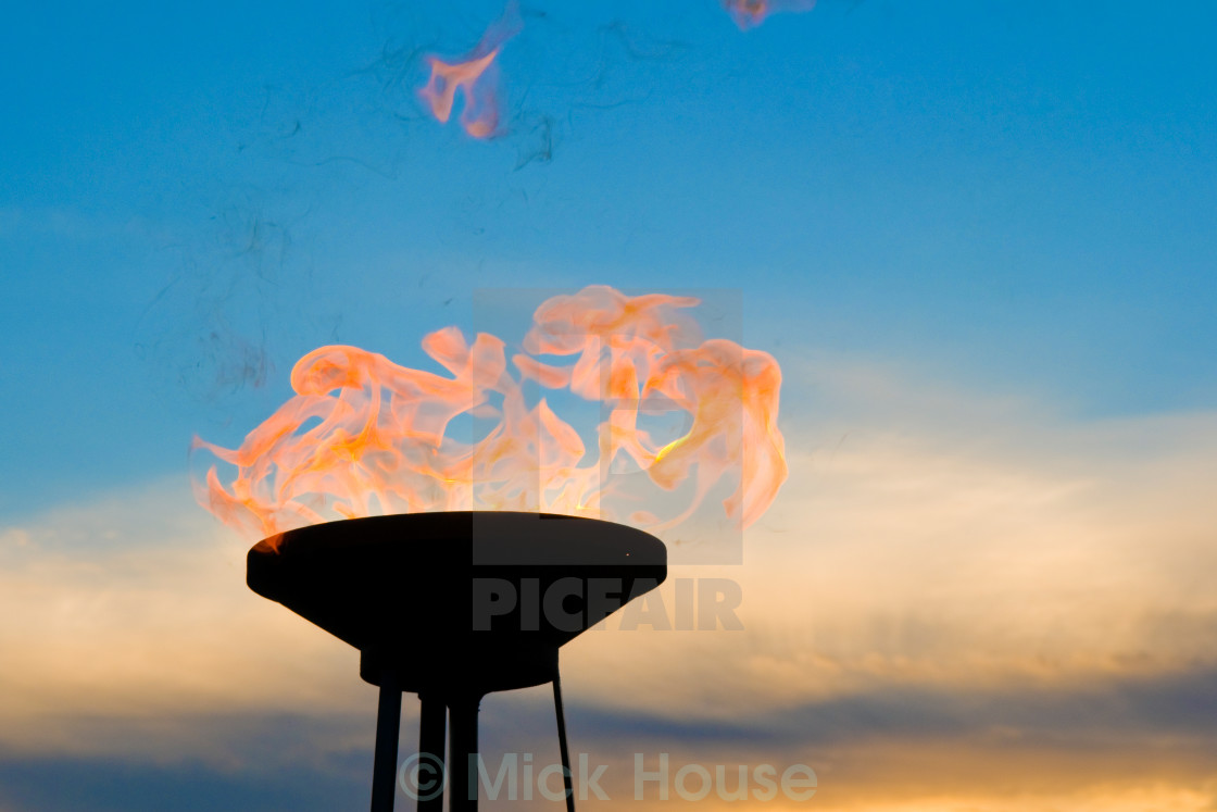 """Fire Beacon"" stock image"