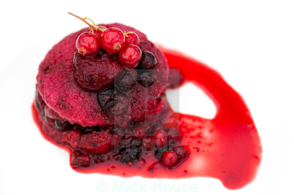 """Summer Pudding"" stock image"