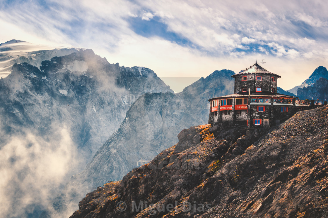 """Mountain Hut"" stock image"