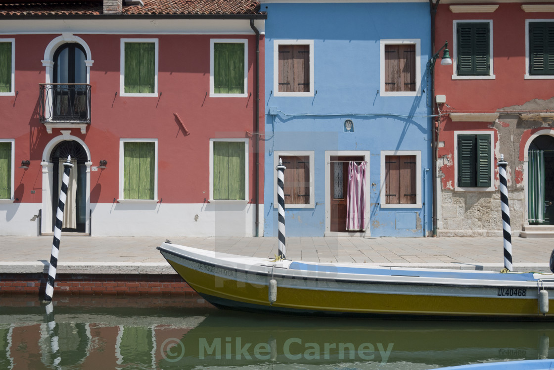 """Peaceful Torcello"" stock image"