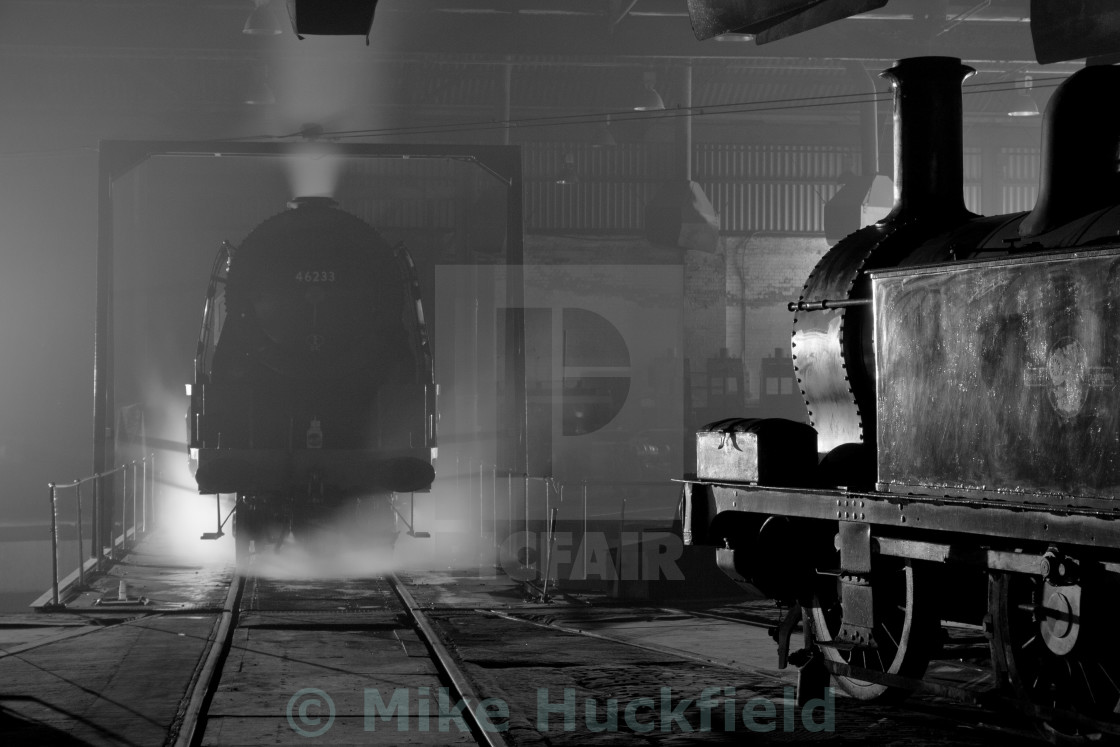 """""""Engine Shed Atmosphere"""" stock image"""