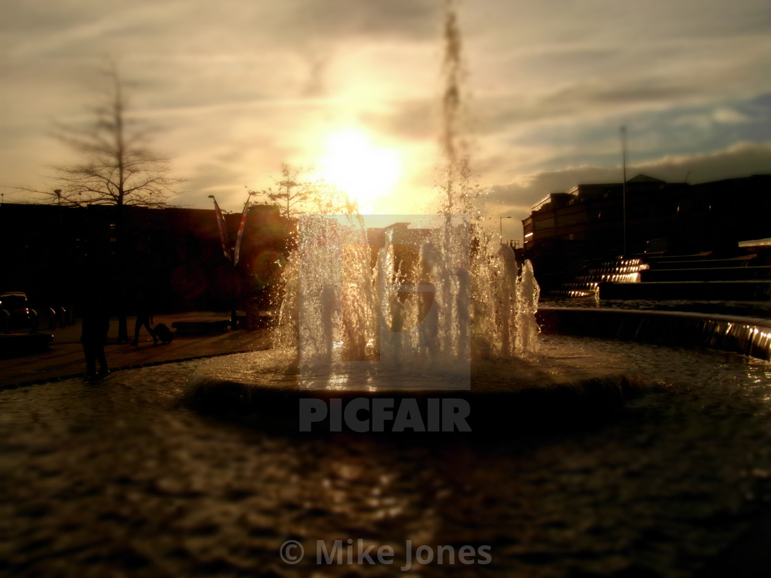 """Fountain 2"" stock image"