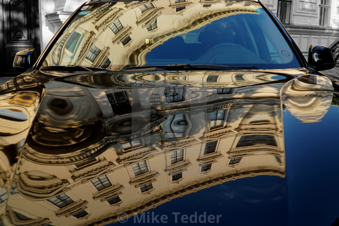 """Vienna reflections"" stock image"