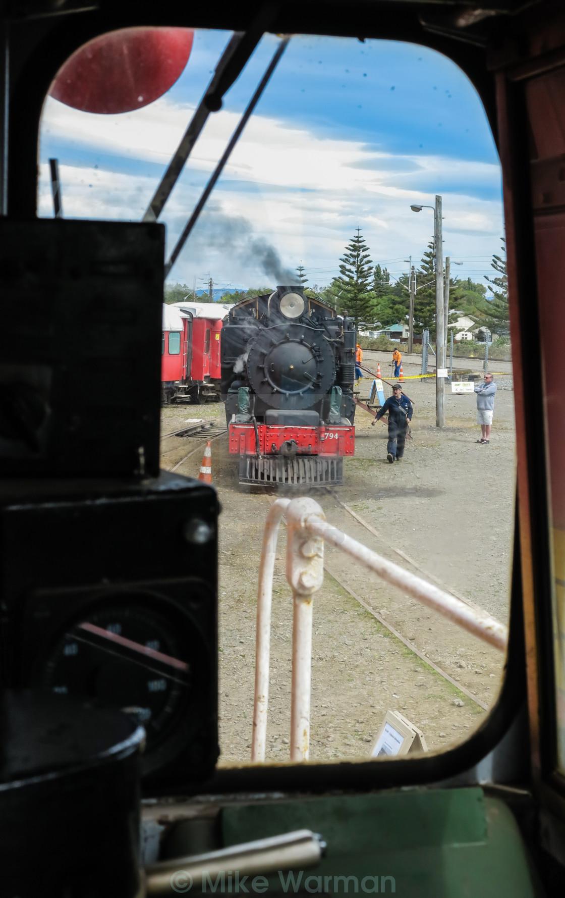 """rail yard view"" stock image"