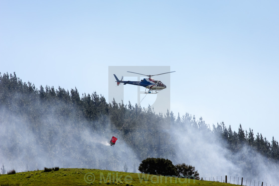 """""""fire fighting helicopter"""" stock image"""