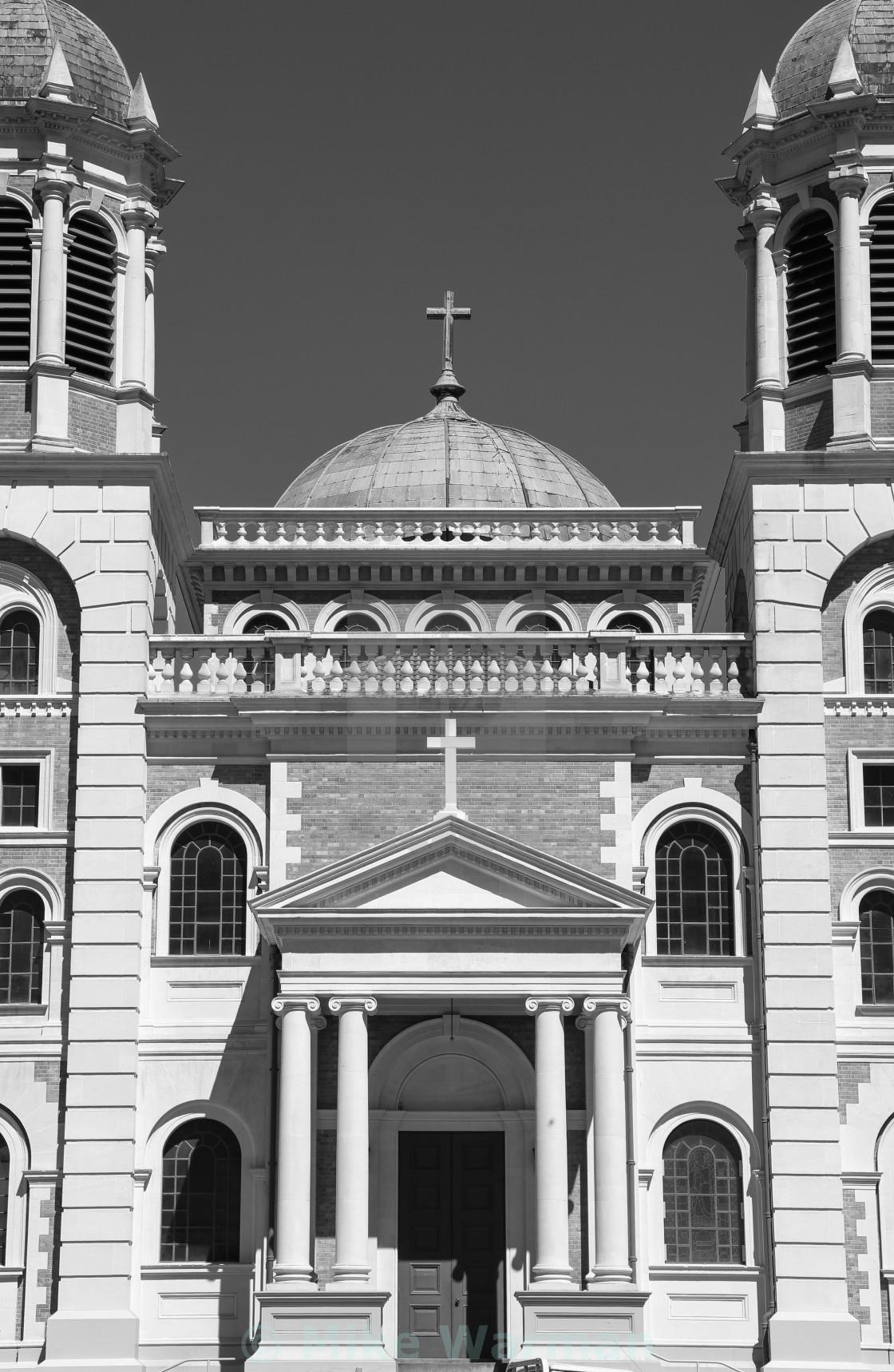 """Timaru basilica"" stock image"