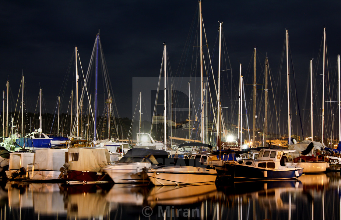 """""""Boats and yachts"""" stock image"""