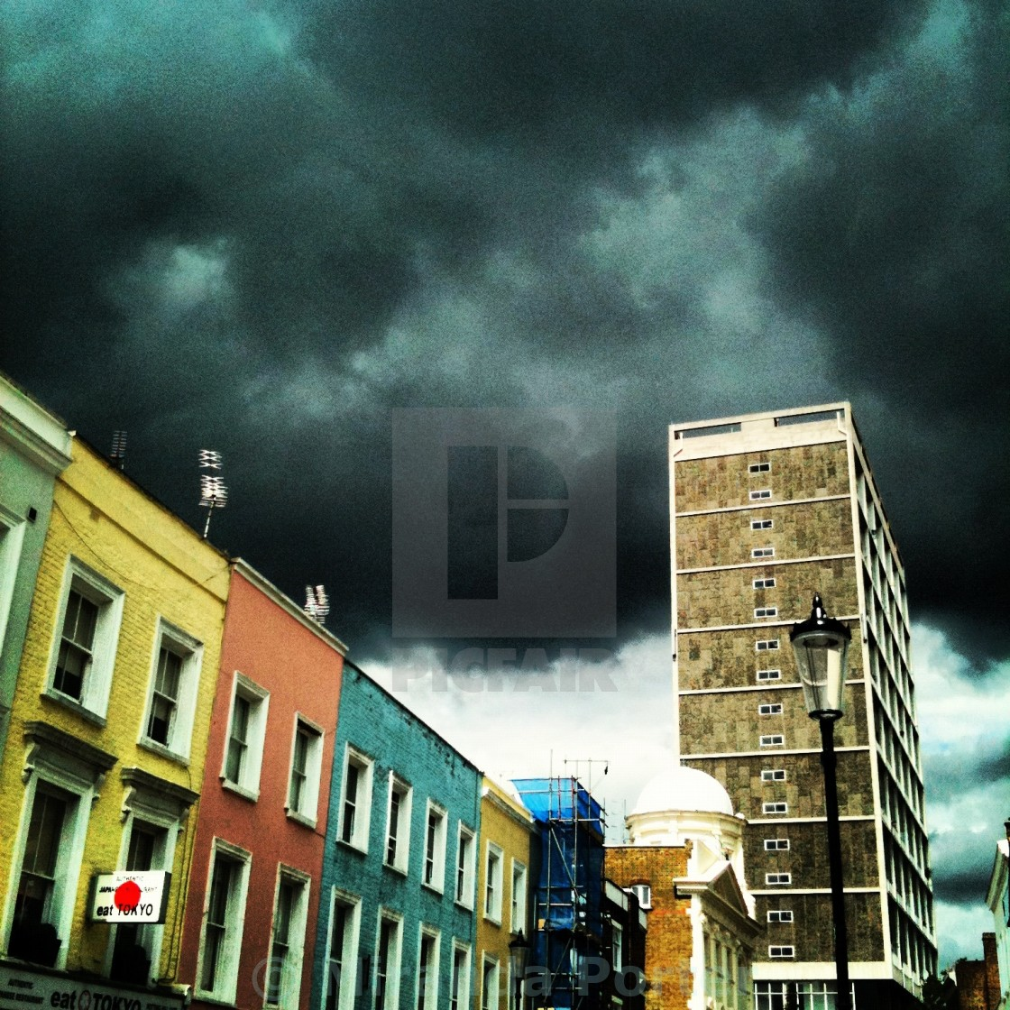 """Looming"" stock image"