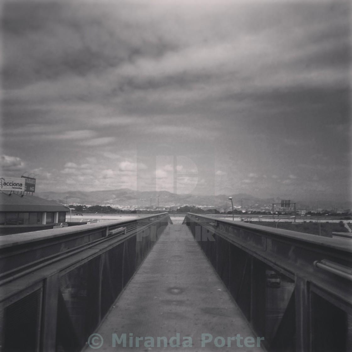 """Long road ahead"" stock image"
