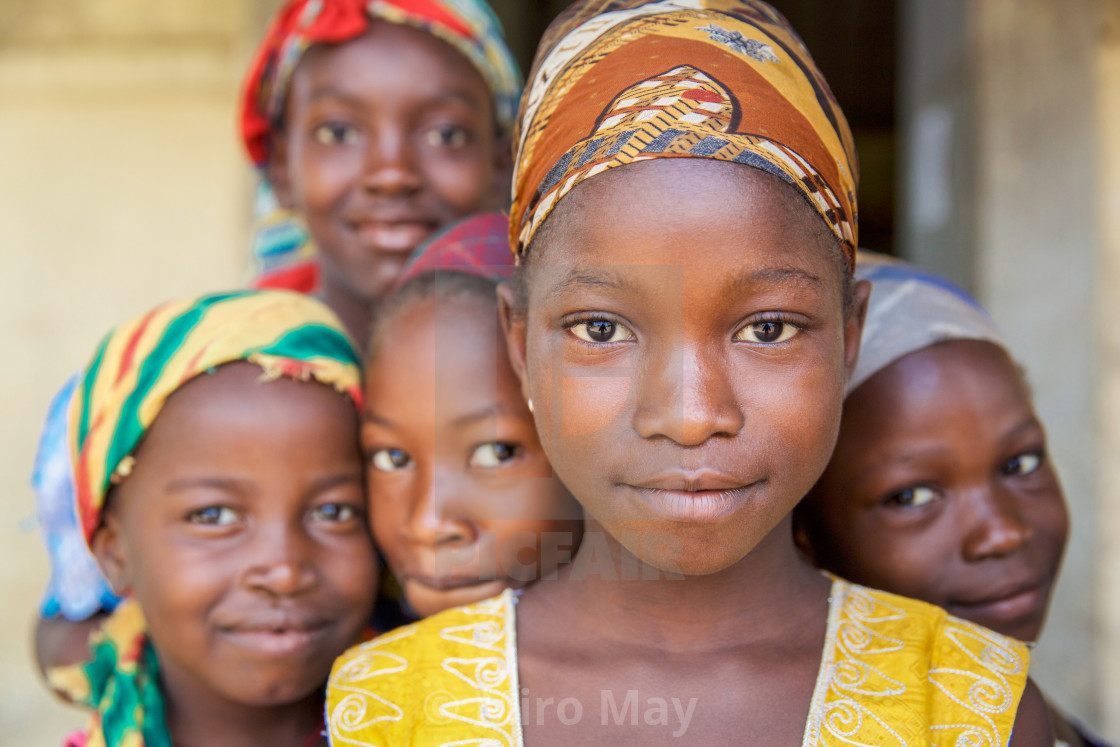 """Children and Childhood in Sierra Leone XXX"" stock image"
