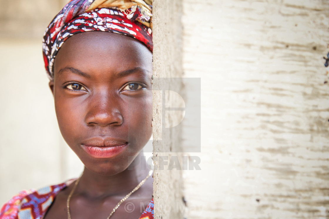"""People and Faces of Sierra Leone XXVII"" stock image"