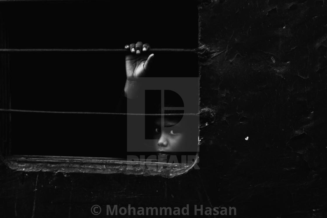 """Bangladesh young traveler"" stock image"