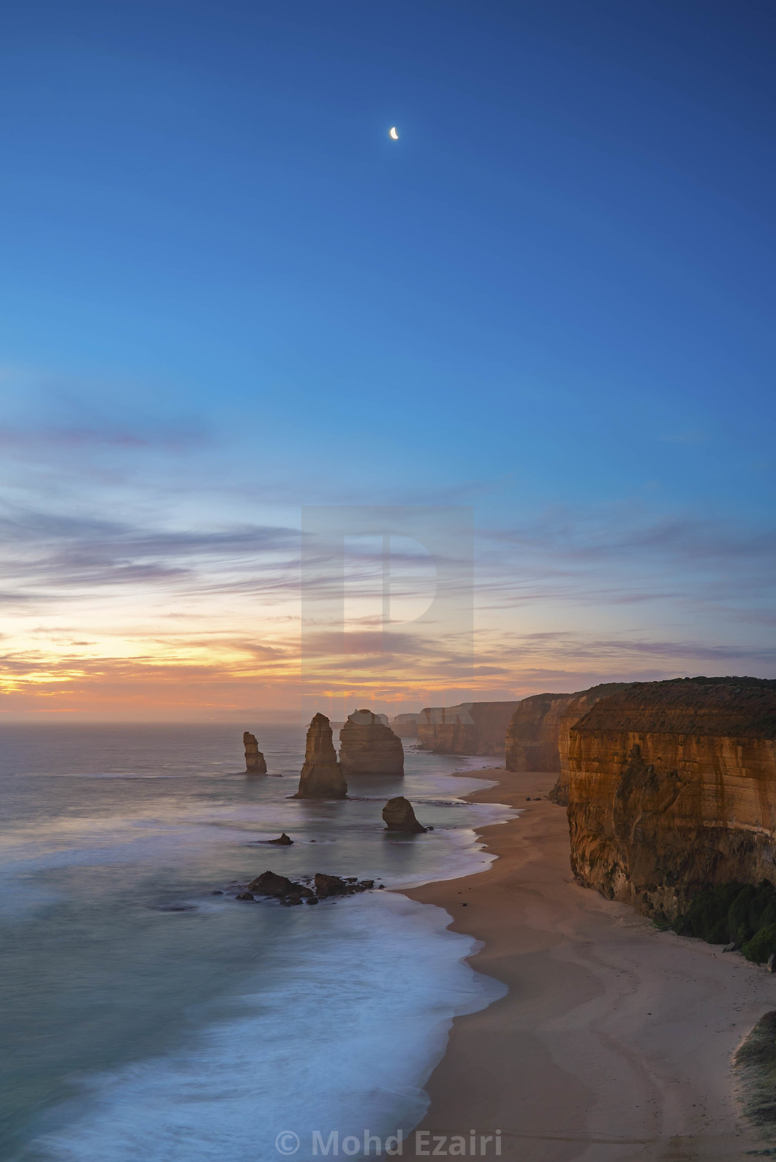 """The Twelve Apostles, Great Ocean Road, Victoria Australia"" stock image"