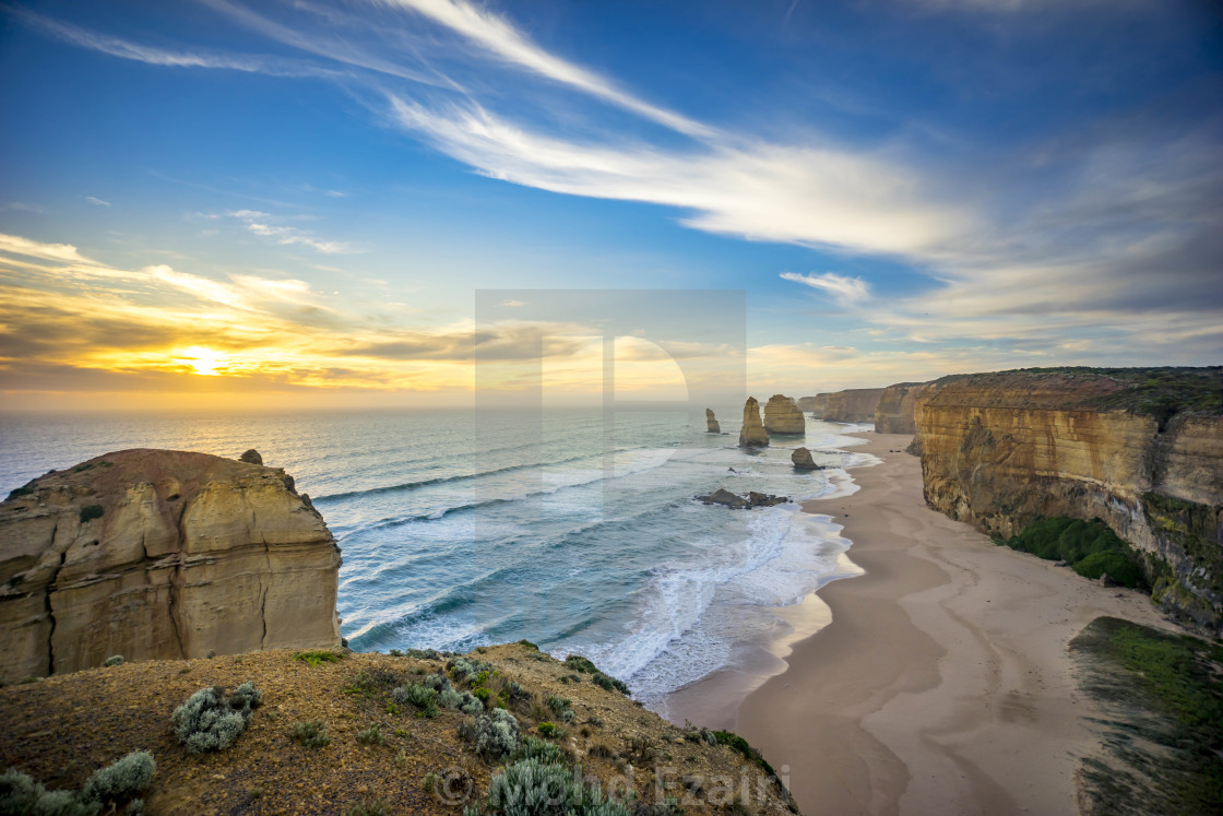 """The Twelve Apostles, Great Ocean Road, Australia"" stock image"