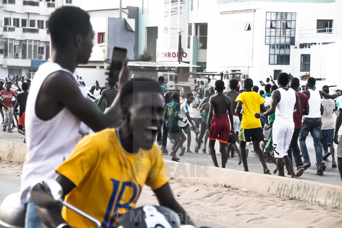 """Senegal Jubilation"" stock image"