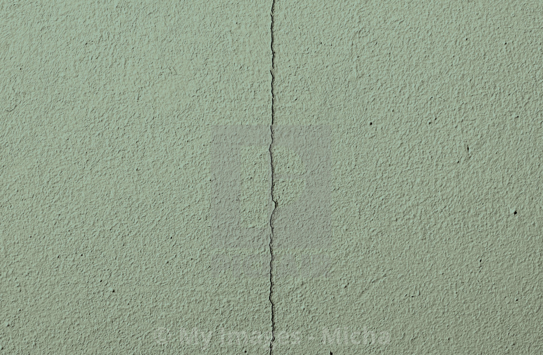 """""""Fragment of an old green cracked wall"""" stock image"""