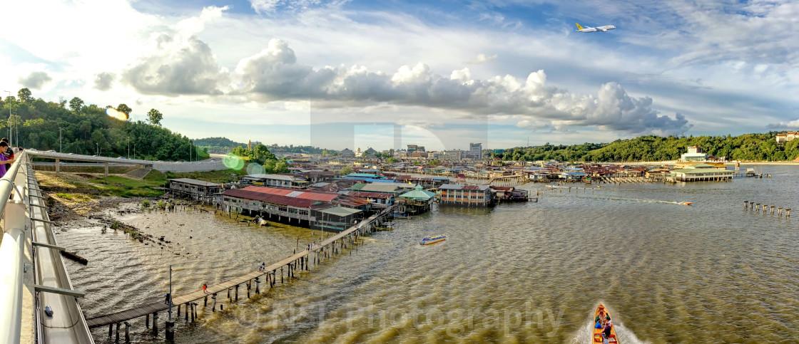 """""""Water Village"""" stock image"""