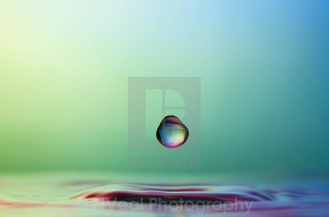 """Suspended above water"" stock image"
