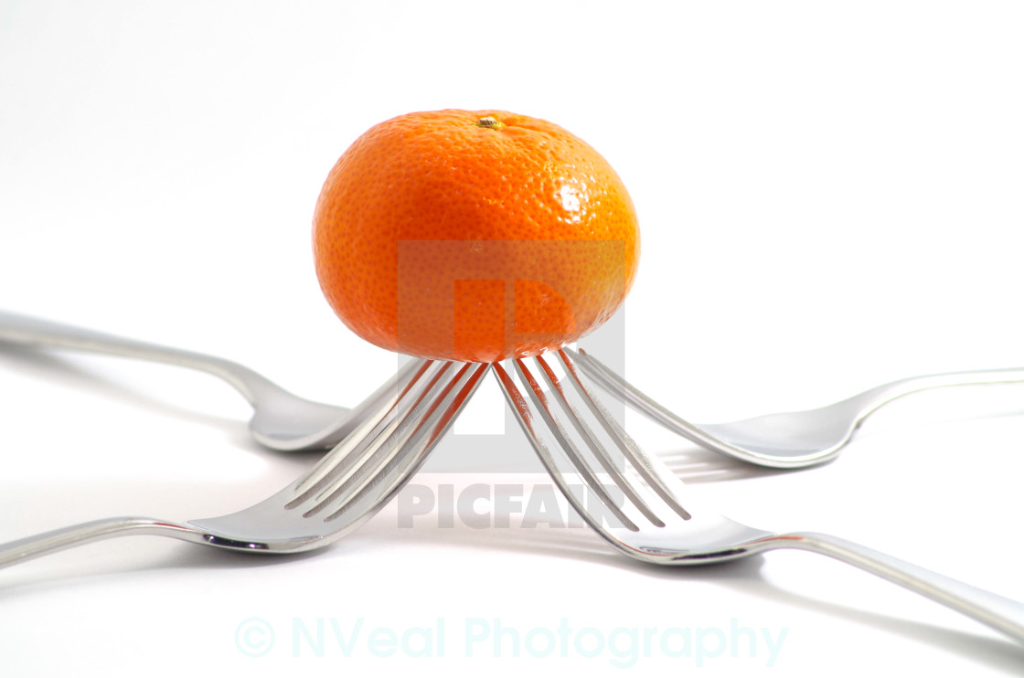 """Raised Orange"" stock image"