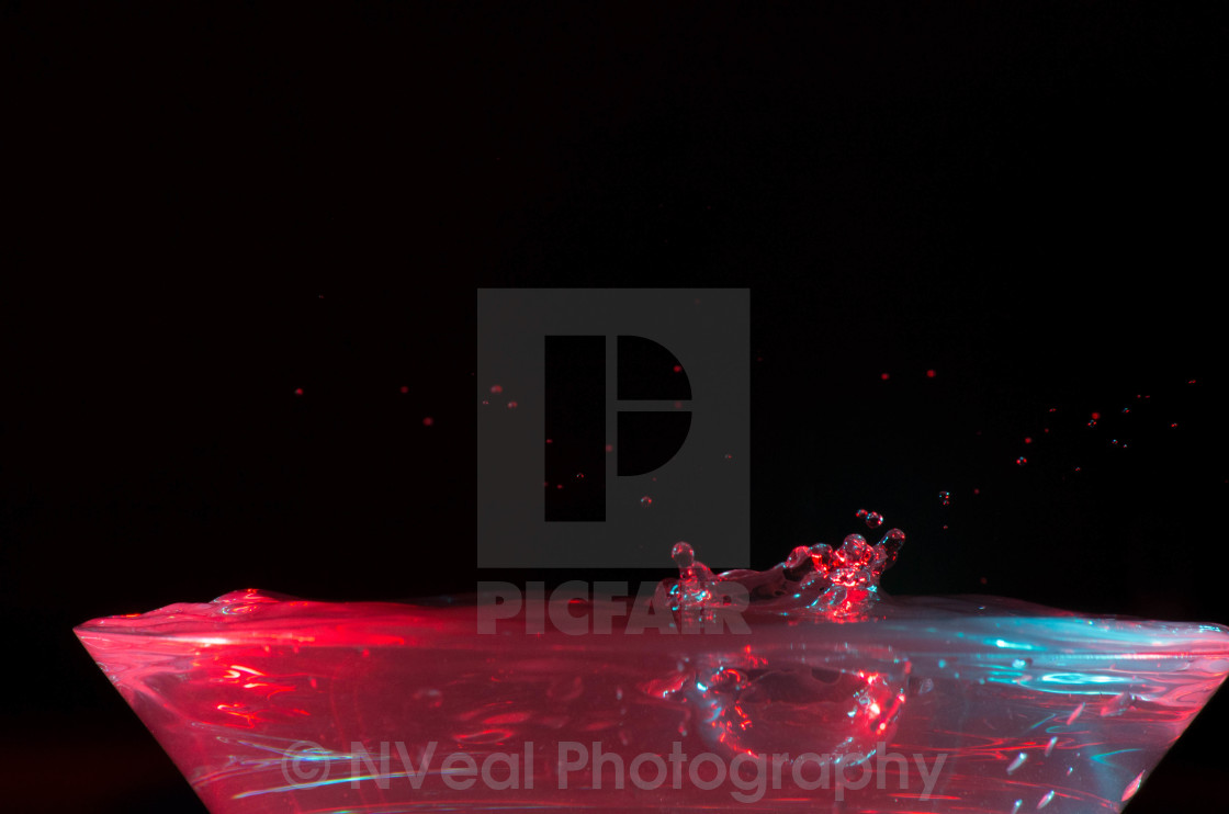 """Cocktail Splash"" stock image"