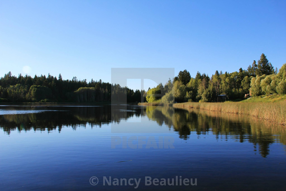 """Still Waters"" stock image"