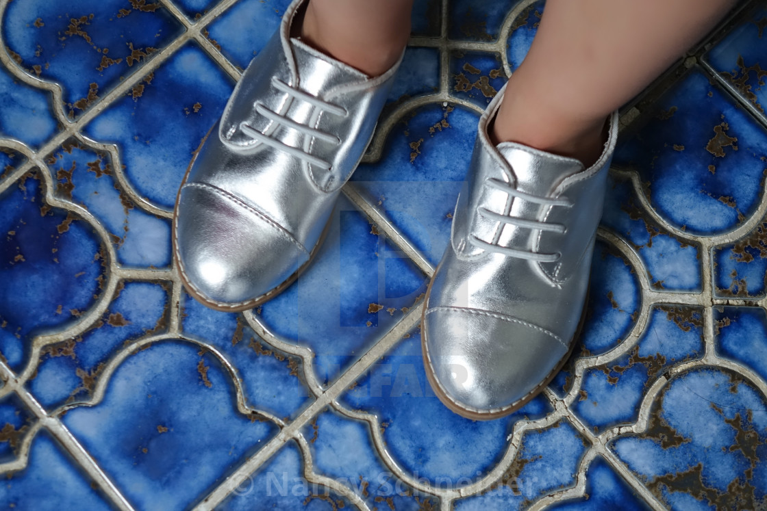 Silver Shoes - License, download or print for £6 20 | Photos | Picfair