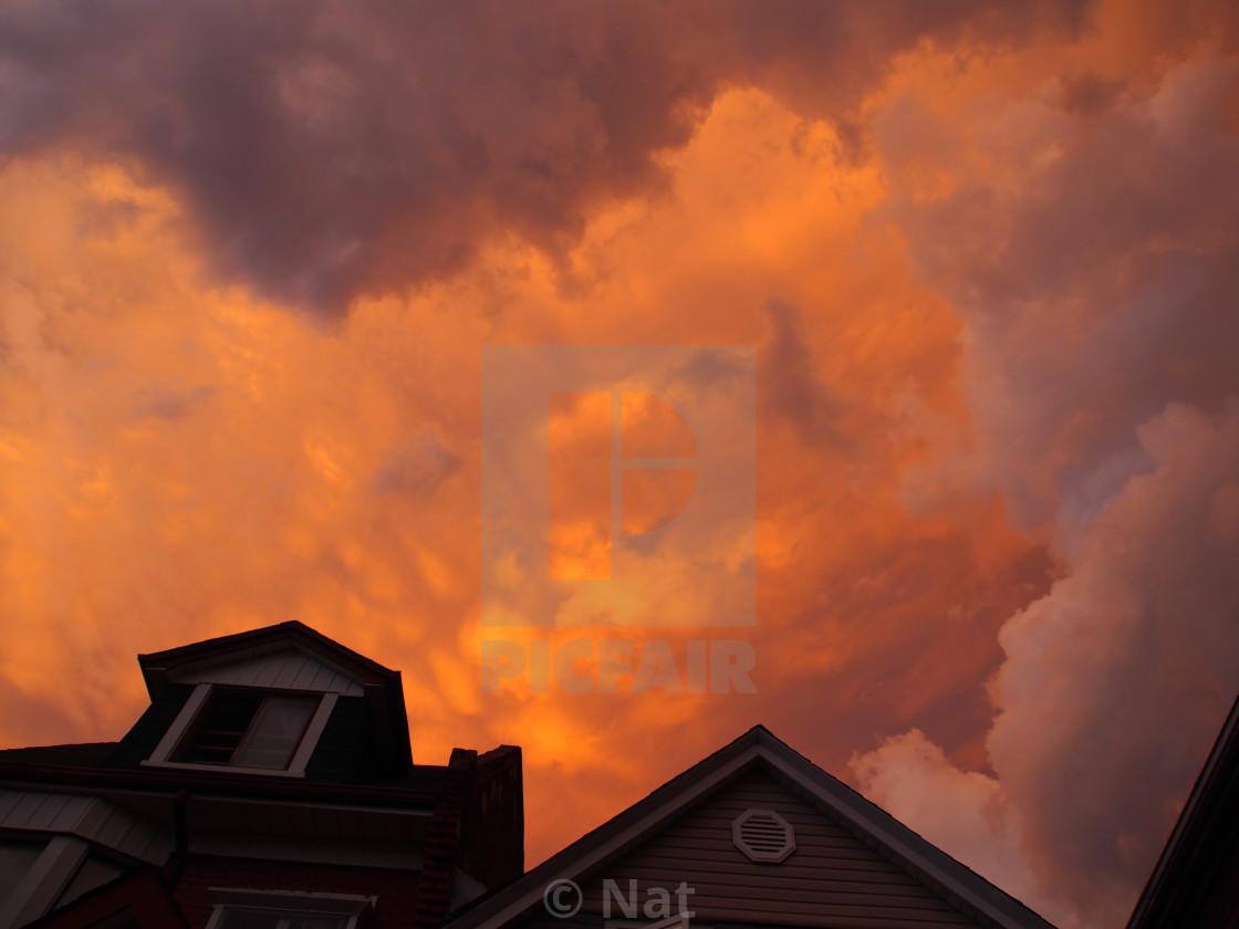 """Dramatic sky"" stock image"