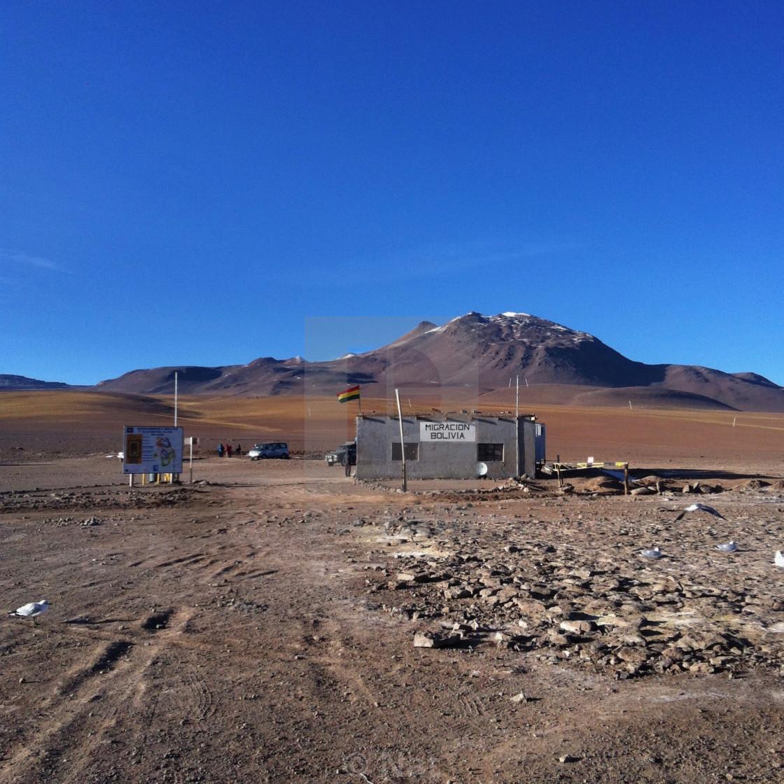 """Bolivia border"" stock image"