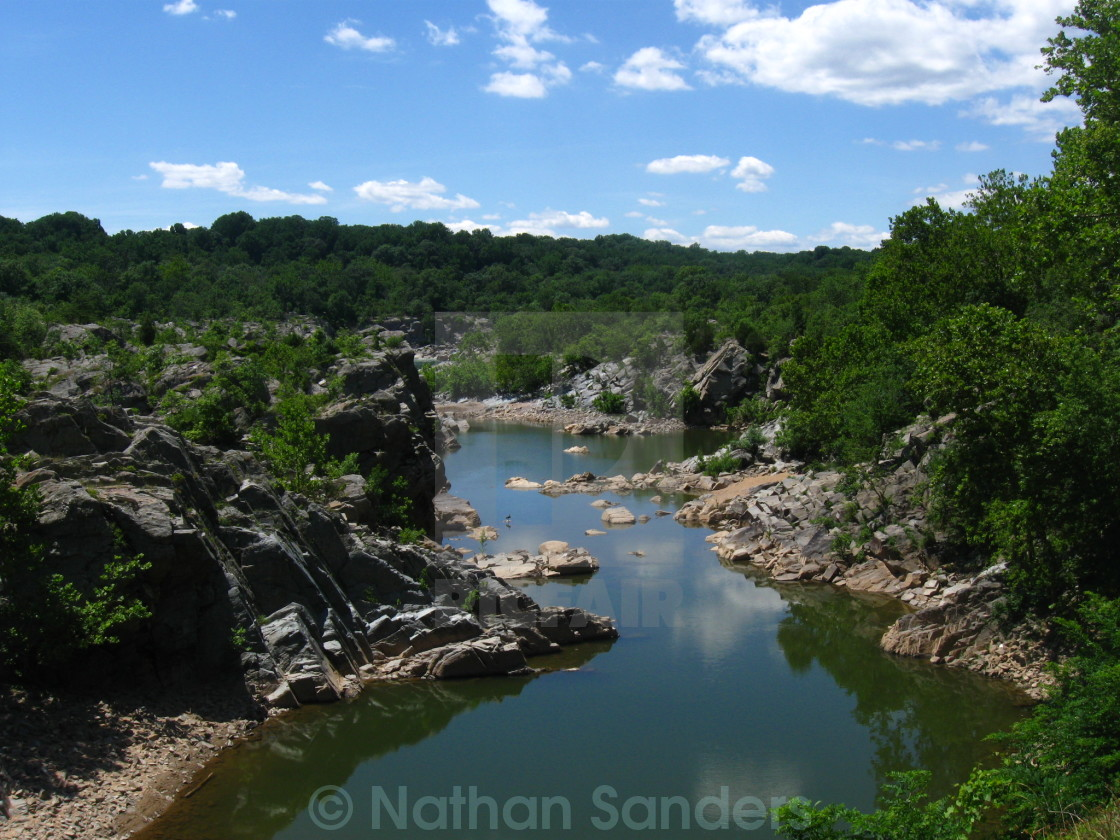 """Great Falls,MD"" stock image"