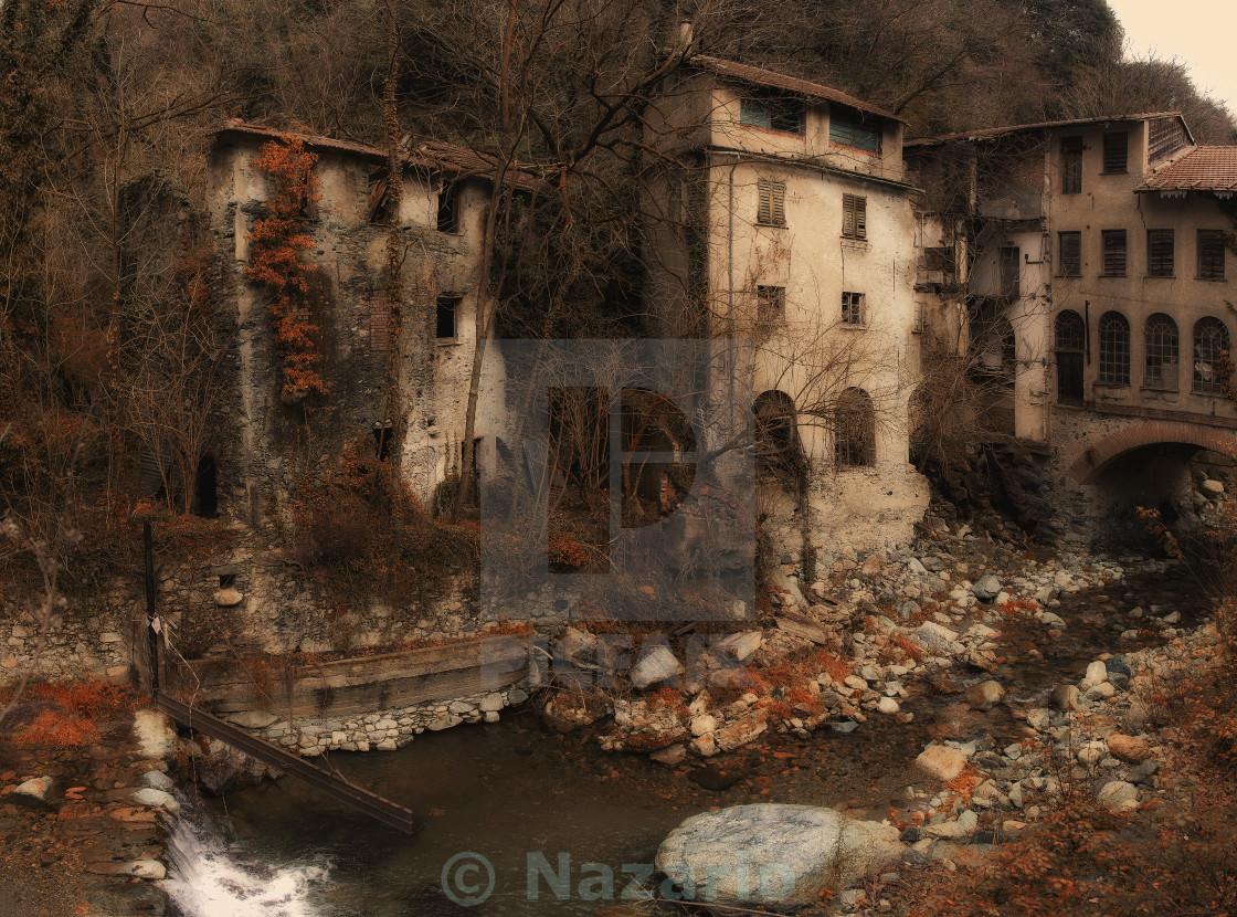 """Ancient factories"" stock image"