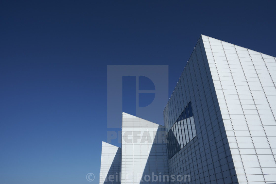 """Turner Contemporary Gallery in Margate"" stock image"