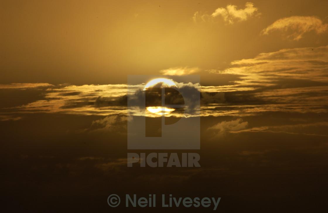 """Low Sun Honolulu"" stock image"