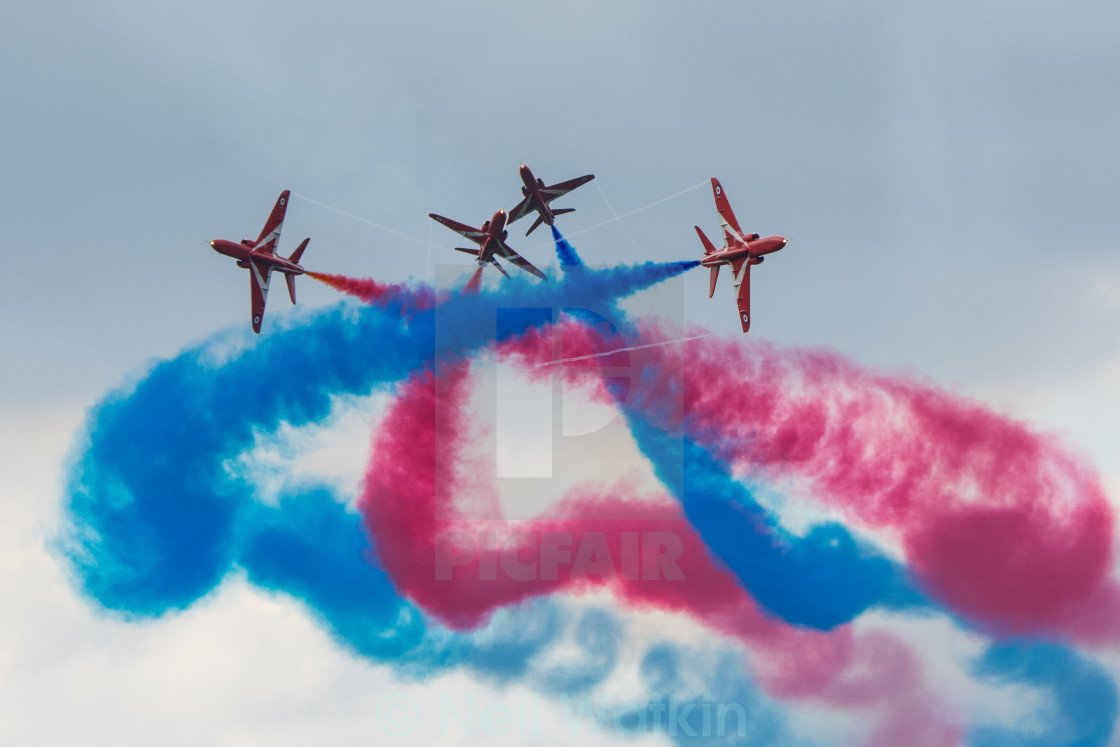 """Red Arrows Gypo Break"" stock image"