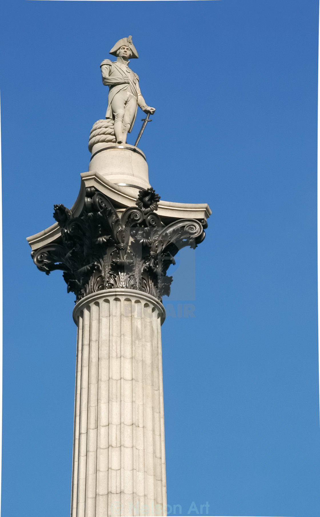 """""""Admiral Nelson"""" stock image"""