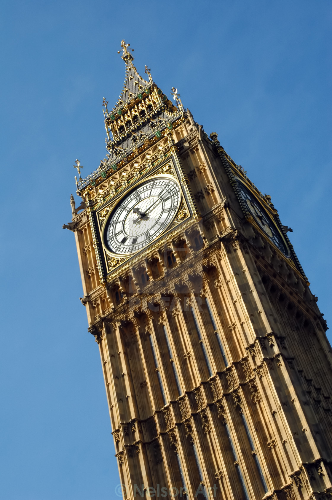 """big ben clocktower"" stock image"