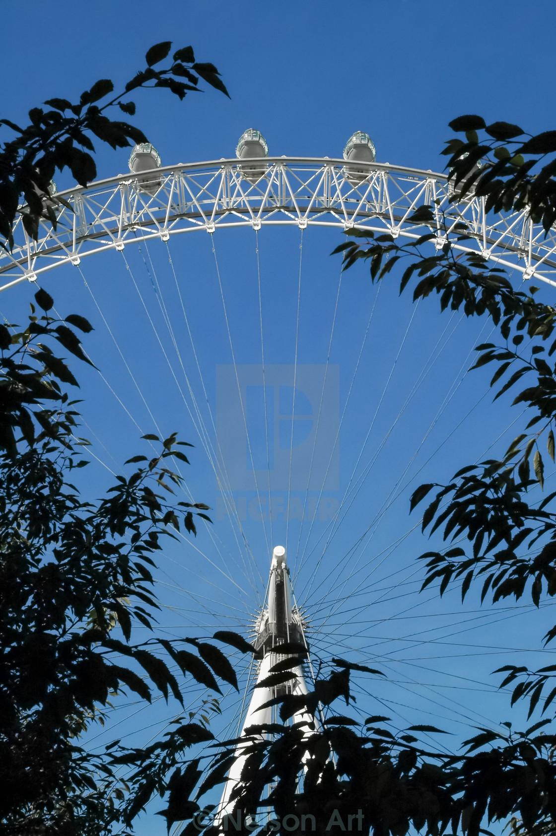 """london eye"" stock image"