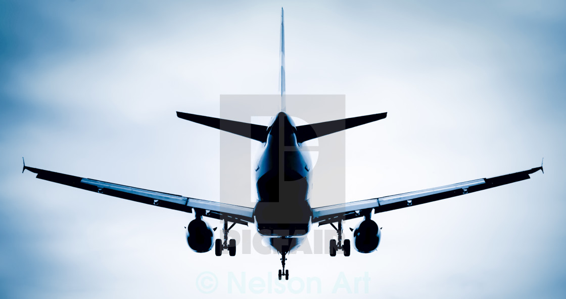 """jet silhouette abstract"" stock image"