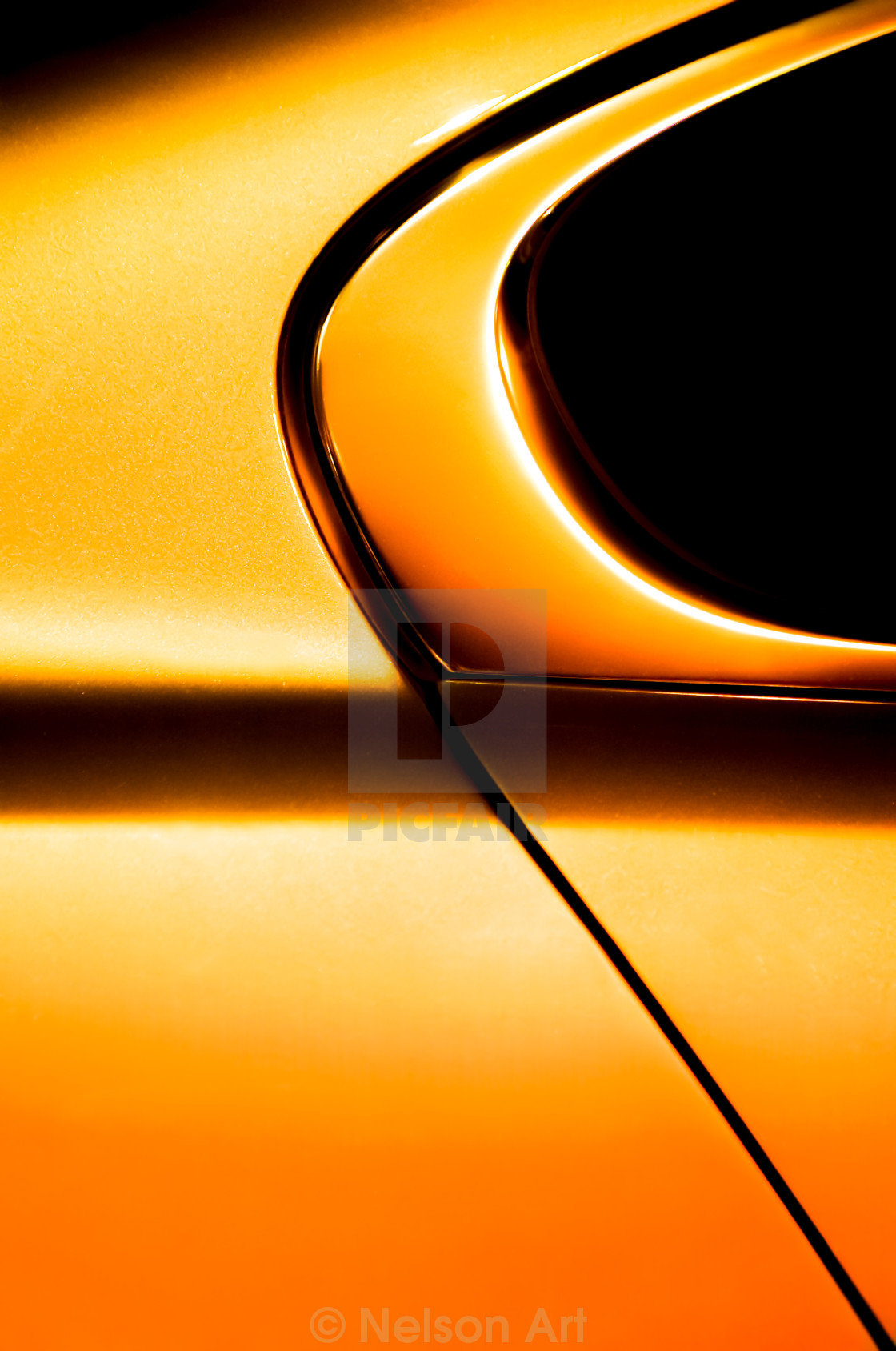 """golden vehicle panel"" stock image"
