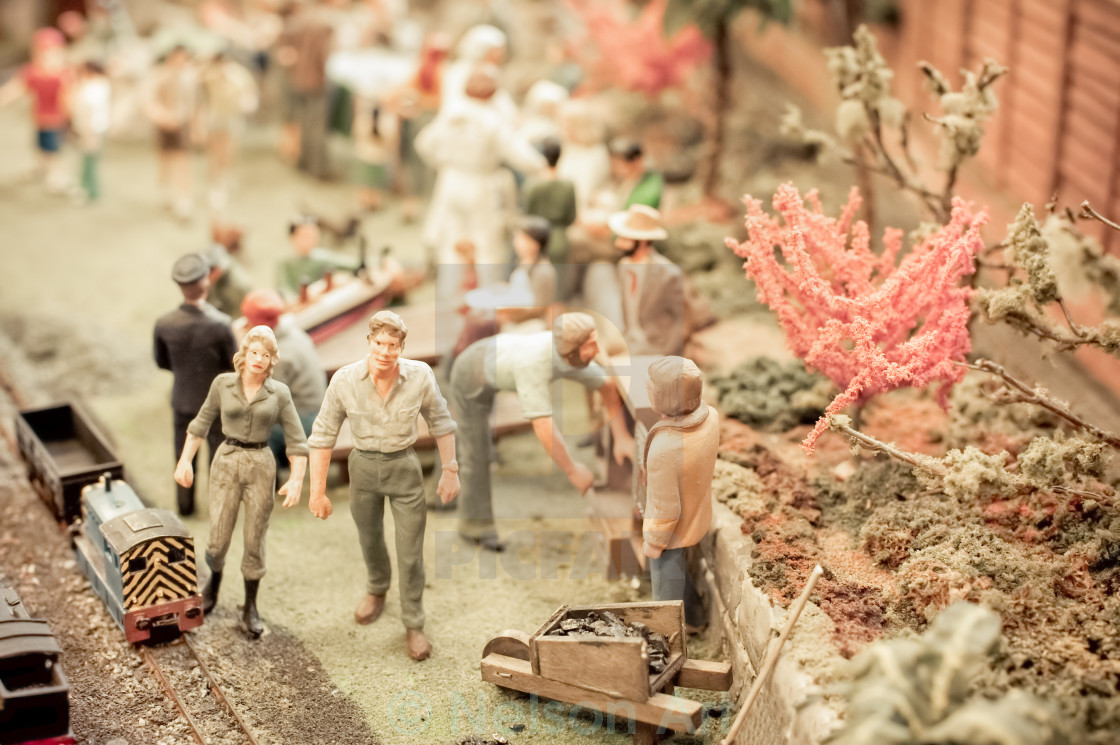 """miniature figures"" stock image"